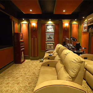 Home Design on Media Design Associates Converts Small Room To Home Theater
